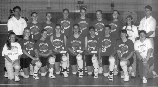 1995 BHS Volleyball Varsity Team