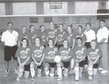 199 BHS Varsity Volleyball Team