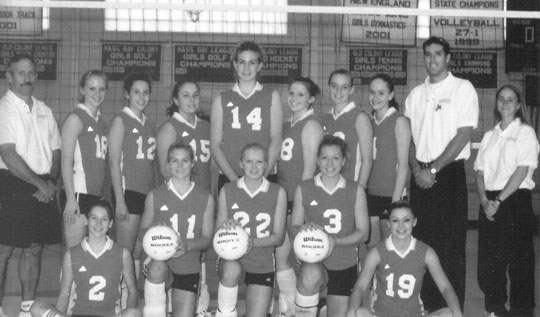 1991 BHS Volleyball Varsity Team