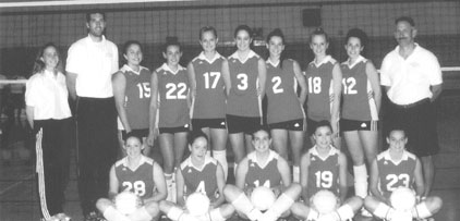 2002 BHS Volleyball Varsity Team