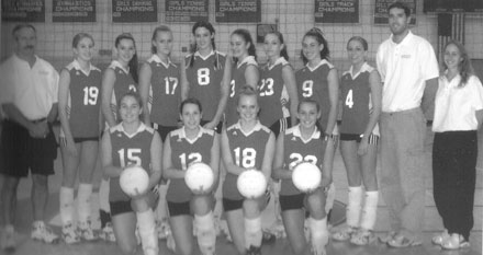 2003 BHS Varsity Volleyball Team