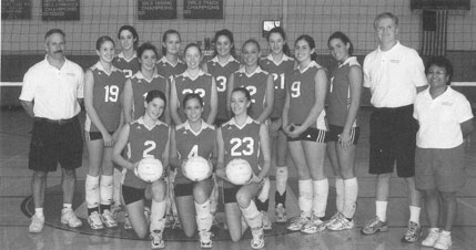 2004 BHS Volleyball Varsity Team