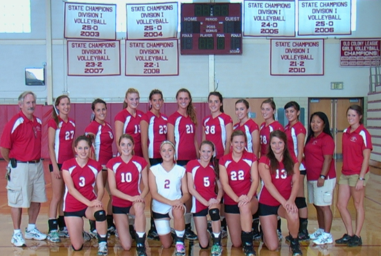 2011 BHS VB Team