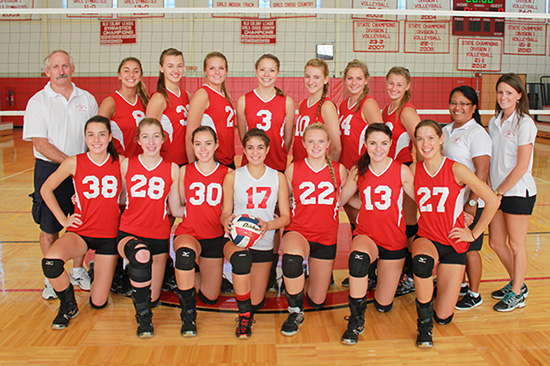 2013 Barnstable Volleyball Varsity Team