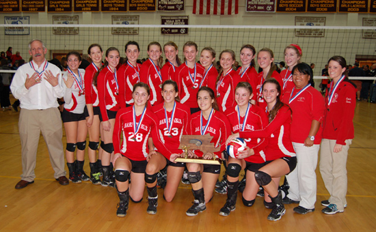 BHS 2012 Div 1 State Champions Volleyball