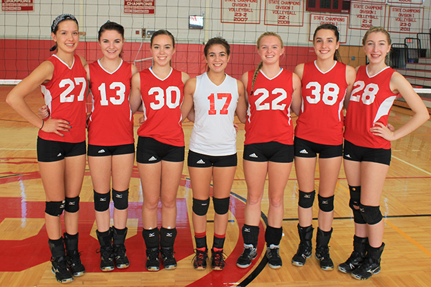 BHS Volleyball 2013 Seniors