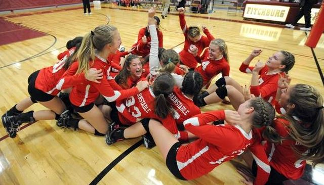 Barnstable wins 17th state volleyball title