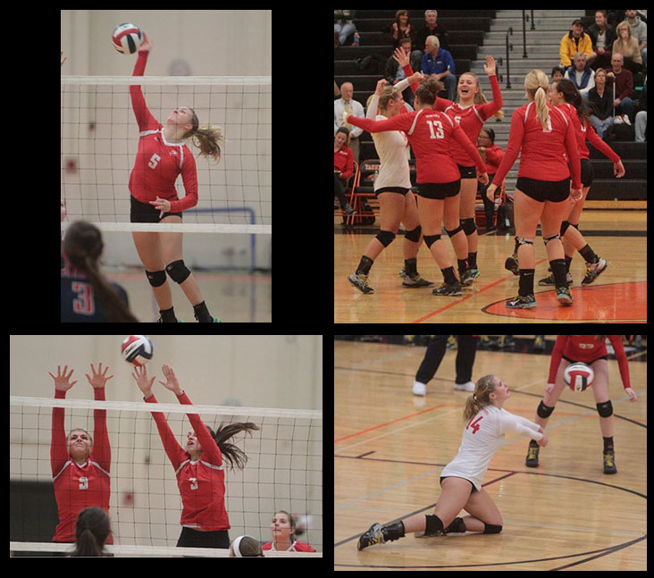 Barnstable Girls Volleyball November 16 from Cape Cod Times