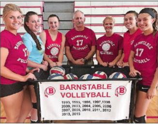Barnstable Volleyball State Championship Banner