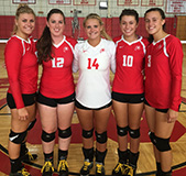 Captains 2016 Girls Barnstable Volleyball