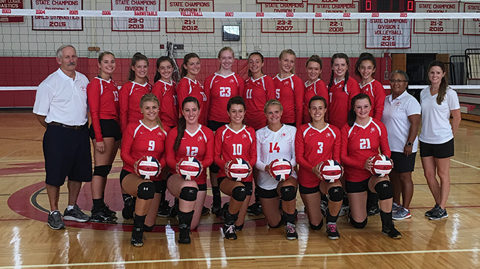 Barnstable Varsity Girls Volleyball