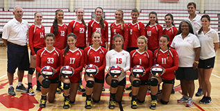 BHS 2017 Girls Varsity Volleyball Team