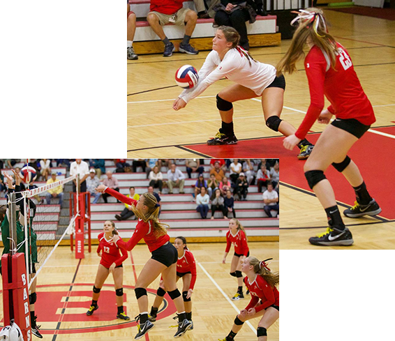 BHS Girls Volleyball Game Pics